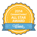 Constant Contact All Star Winner 2014